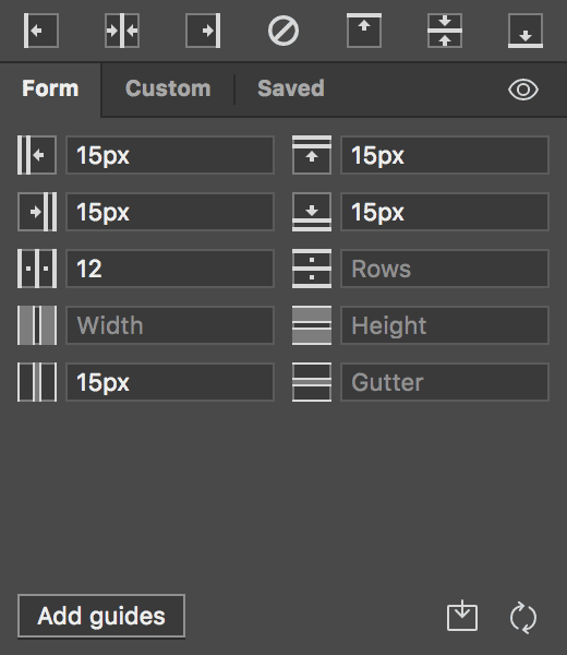 How to make diagonal guides in illustrator